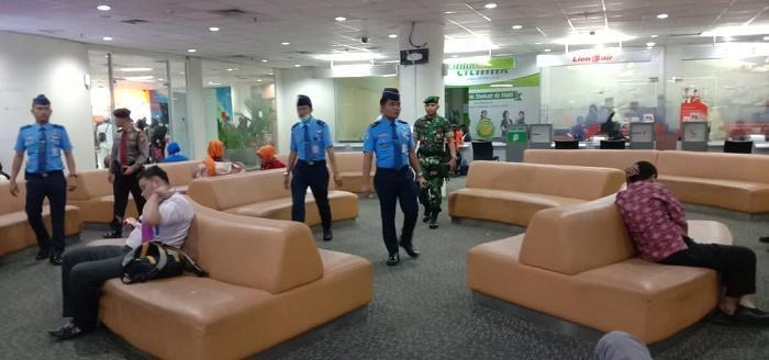 Ciptakan Rasa Aman, Polresta Deli Serdang Lakukan Patroli di Bandara Kualanamu