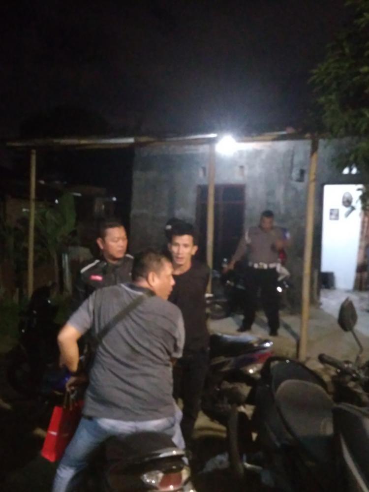 GKN di Malam Hari, Empat Pengedar Sabu Ditangkap