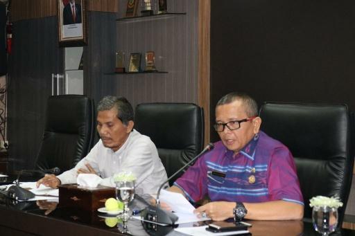 Ombudsman RI Sambangi Pemko Medan, Renward Parapat Minta OPD Patuhi Standar Pelayanan Publik