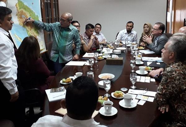 Kadin Sumut Ajak Belgia Kembangkan Kawasan Ekonomi Pantai Barat Sumatera dan Hilirisasi Produk Coklat
