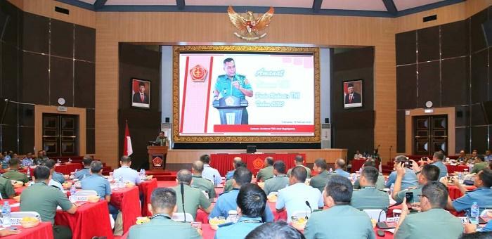 Kasum TNI Buka Rakor Teritorial Tahun 2020 di Mabes TNI Cilangkap