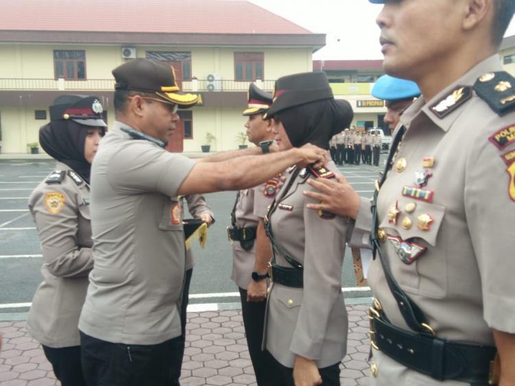Kapolrestabes Medan Pimpin Sertijab Kabag Ops dan Kasat Lantas