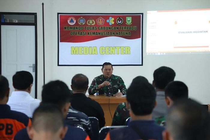 Hari Kesembilan 238 WNI di Natuna, Pangkogasgabpad Evaluasi Kegiatan Termasuk Sarana dan Prasarana