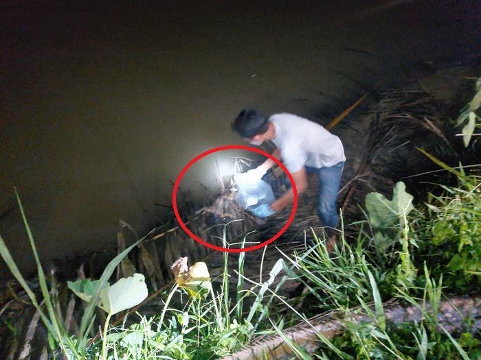 Mayat Bayi Baru Lahir Ditemukan Mengambang di Sungai Serdang Kecamatan Beringin