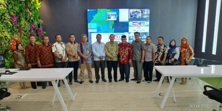 Dua Tahun Over Target PAD RMT, Pemerintah Aceh Tamiang Studi Banding ke Diskominfo Langkat