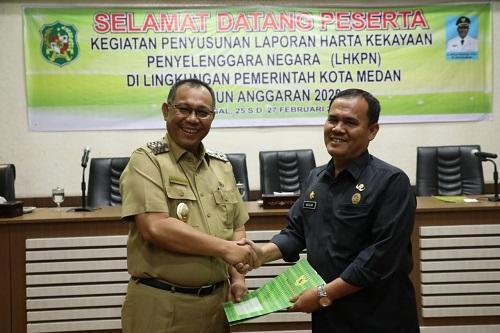 Akhyar Nasution Minta 239 Pejabat Pemko Medan Laporkan Harta Kekayaannya di LHKPN