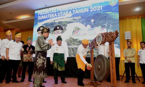 Gubernur Ajak Bupati/Walikota Sinkronisasi Rencana Prioritas Pembangunan Sumut