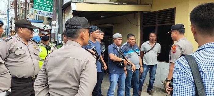 Kampung Bersinar, Warga Gang Jati Medan Senang Polisi Kawal Lingkungannya Bersih Narkoba