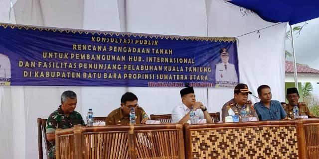 Bupati: Pemerintah Pusat Yakin di Kabupaten Batubara Bisa Dibangun Kilang Minyak