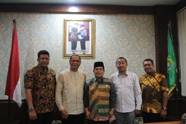Terima Kunjungan Komisi VIII DPR RI, Kakanwil Kemenag Sumut Berharap Terus Suarakan Aspirasi Masyarakat di Bidang Agama