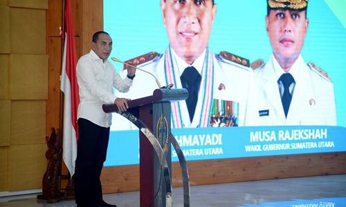 Peluncuran Layanan Limbah Tinja PDAM Tirtanadi, Gubernur Minta Perkuat Sosialisasi Agar Rakyat Paham