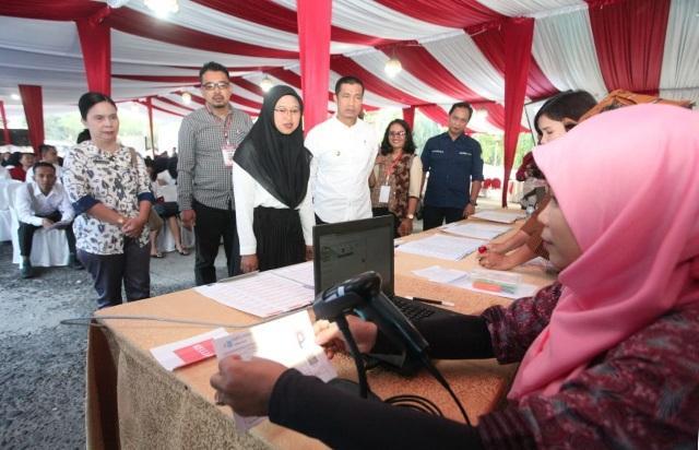 Wali Kota Pematangsiantara Himbau Peserta CPNS Tak Perlu Percayai Oknum Tertentu Janjikan Kelulusan