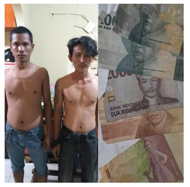 Pungli Supir Truk, Dua Pria Ini Diciduk Jajaran Polresta Deli Serdang