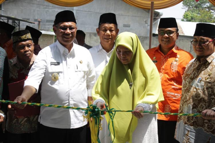 Masjid Dipindah Sesuai Kesepakatan Jamaah, Akhyar Resmikan Masjid Baru Al Muttaqin Sidomulyo