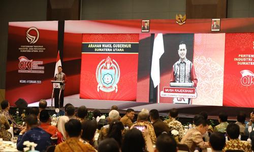 Wakil Gubernur Harapkan Sinergi dan Kolaborasi Semua Pihak untuk Memajukan Ekonomi Sumut