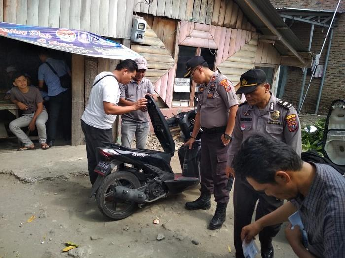 Gerebek Kampung Narkoba, Polsek Medan Area Bongkar Gang Jati di Jalan Denai Medan