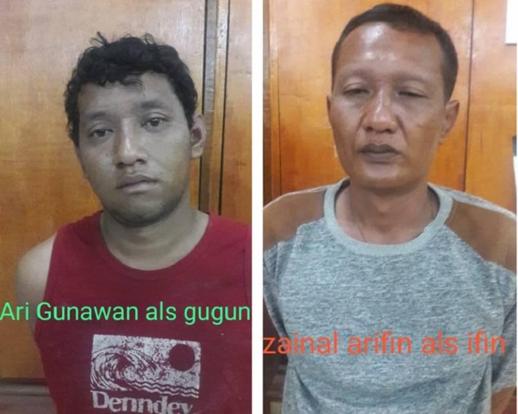 Viral Aksi Komplotan Pencuri Bongkar Rumah, Dua Pelaku Ditangkap Unit Pidum Polrestabes Medan