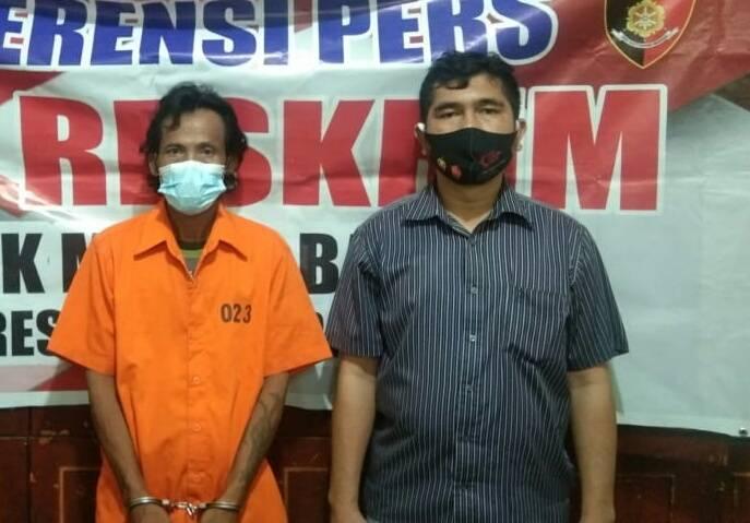 Simpan Sabu, Polisi Tangkap Buruh Bangunan di Medan