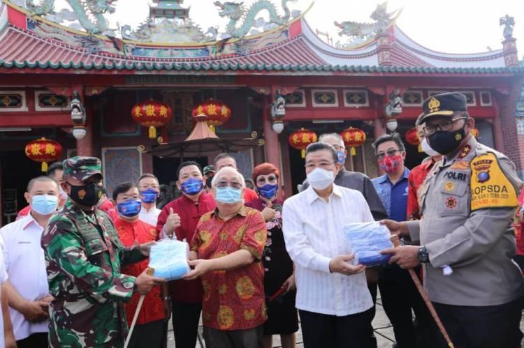 Kapolda Sumut Imbau Perayaan Imlek Patuhi Protokol Kesehatan