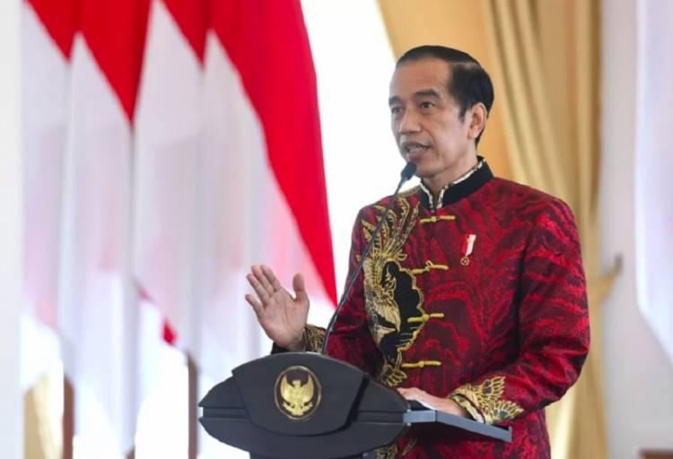 Presiden Jokowi Hadiri Perayaan Imlek Nasional 2021, Ucapkan Selamat Tahun Baru Kerbau untuk Etnis Tionghoa