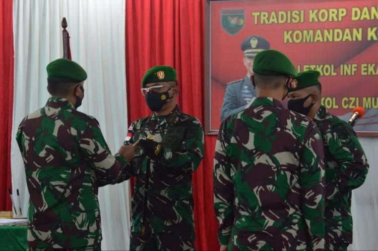 Danrem Brigjen TNI Bangun Nawoko Pimpin Acara Tradisi Korps dan Sertijab Dandim 1707/Merauke