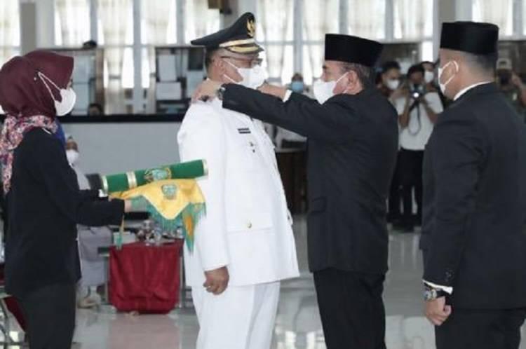 Sah, Akhyar Nasution Jadi Wali Kota Medan Defenitif, Begini Pesan Gubernur Edy Rahmayadi
