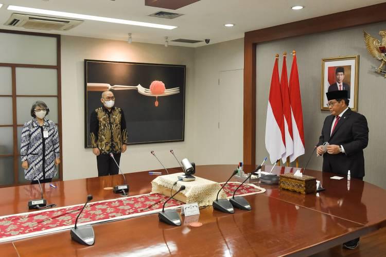 Arahan Seskab Pramono Anung Saat Pelantikan Wakil Sekretaris Kabinet