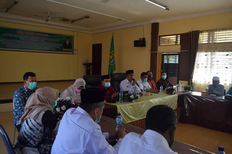 Inspektorat Jenderal Kemenag Audit Dana BOS Madrasah di Kota Medan