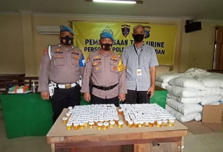 Polrestabes Medan Mendadak Tes Urine Personilnya, 1 Oknum Kedapatan Positif