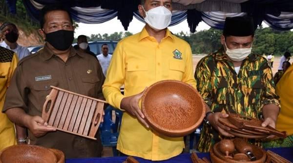 Kembangkan Produk Lokal, Bupati Madina Harapkan Bantuan dan Dukungan dari Pemprov Sumut