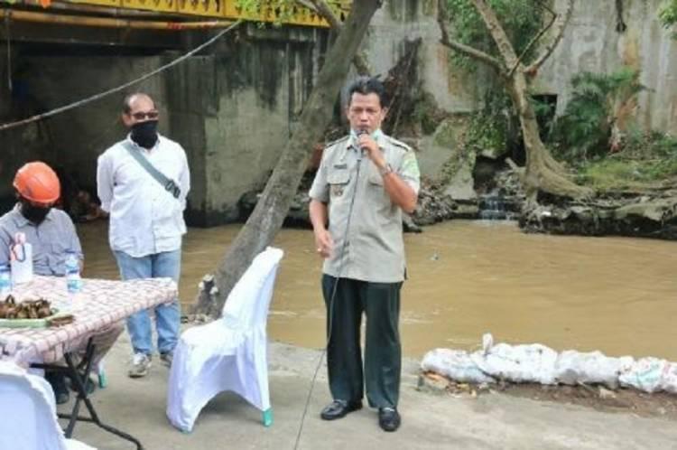 Aksi Bersih Sungai Babura, Kepala BPBD Kota Medan Coba Arung Wisata Sungai