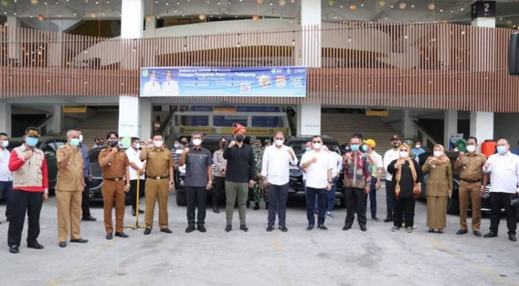 Ketua KADIN Medan Arman Chandra Dukung Program Pemerintah Lakukan Vaksinasi Covid-19 di Kota Medan