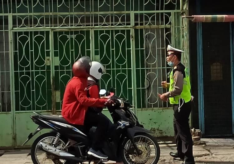 Polsek Medan Timur Disiplin Prokes, 12 Warga Kedapatan Tak Pakai Masker