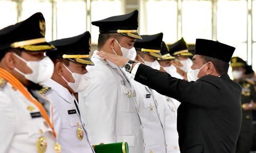 Lantik 11 Pasang Kepala Daerah, Gubernur Sumut : Kenali Persoalan dan Potensi Wilayah Masing-masing