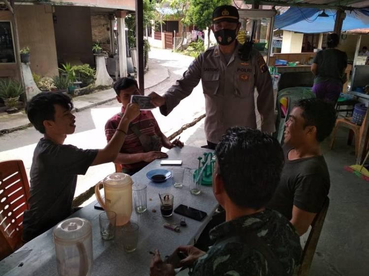 Langgar Prokes, 5 Warga Terima Sanksi Sosial saat Operasi Yustisi Polsek Medan Area
