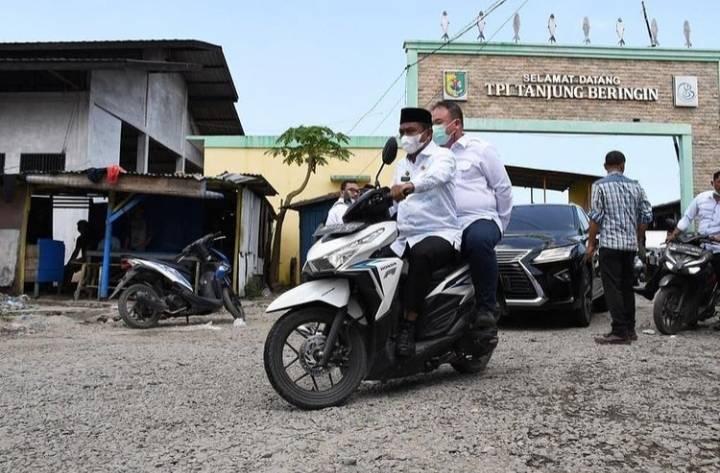 Bersama Bupati Sergai Terpilih, Ketua Kadin Medan Kunjungi TPI Tanjung Beringin