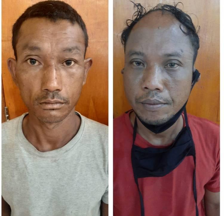 Polisi Tangkap Dua Pria Komplotan Pencuri Alat Musik di Desa Sampali