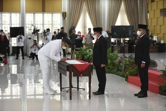 Hari Ini Bobby Nasution Resmi Jabat Wali Kota Medan, Aulia Rachman Jadi Wakilnya Periode 2021-2024