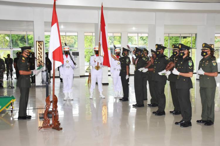 Secara Virtual, Kodam XVII/Cenderawasih Lantik 447 Putra Terbaik Papua Jadi Prajurit TNI AD