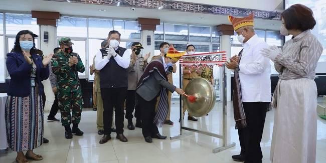 Tingkatkan Indeks Literasi Masyarakat, Kepala Perpustakaan Nasional Launching Pocadi Dairi