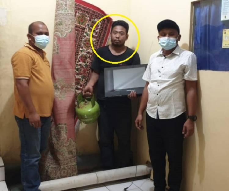 Polsek Pancur Batu Tangkap Pencuri Bongkar Rumah Warga di Desa Lama, Ternyata Pelaku Simpan Sabu