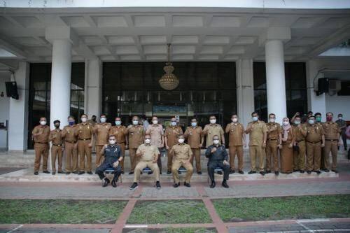 Akhyar Nasution Akhiri Jabatan Sebagai Wali Kota Medan, Keluarga Besar Pemko Medan Buat Perpisahan Sederhana