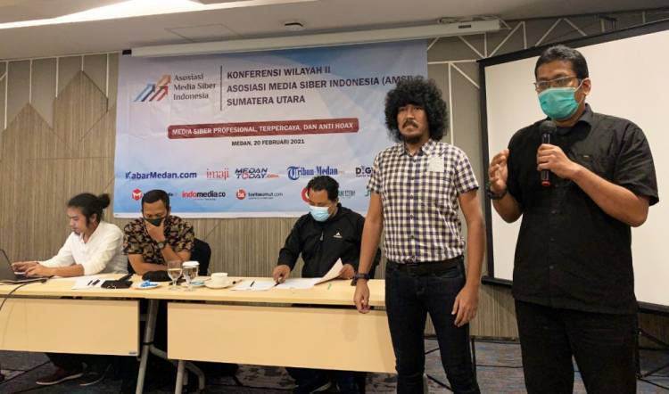 Agoez Perdana dan Asriafin Soekarman Pimpin AMSI SUMUT Periode 2021 - 2024