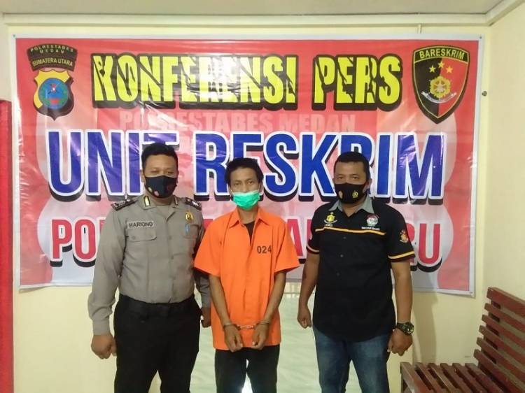 Bongkar Rumah Kosong di Jalan Punak Medan, 1 Pencuri Ditangkap Polsek Medan Baru, 3 DPO