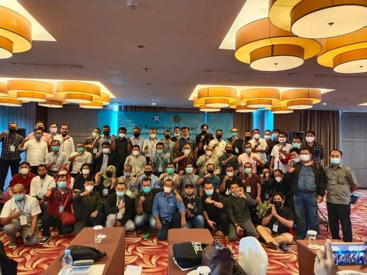 Uji Kompetensi Wartawan Angkatan 36-37 PWI Sumut, Dari 53 Peserta, 3 Dinyatakan Tidak Lulus
