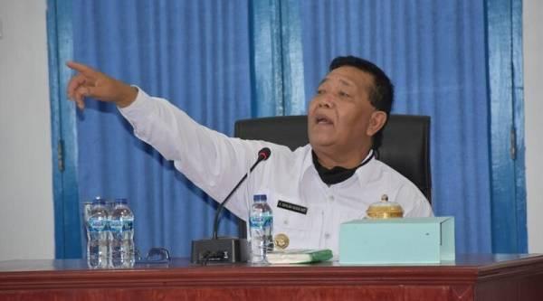 Bupati Madina Desak Pimpinan OPD Segera Serahkan Hasil Evaluasi Tenaga Honorer
