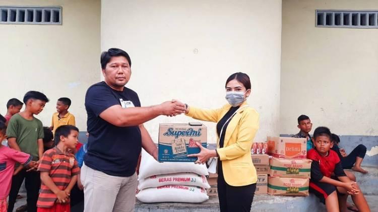 Solid Project Club Gelar Aksi Bakti Sosial di Panti Asuhan Al-Washliyah Pinang Baris Medan