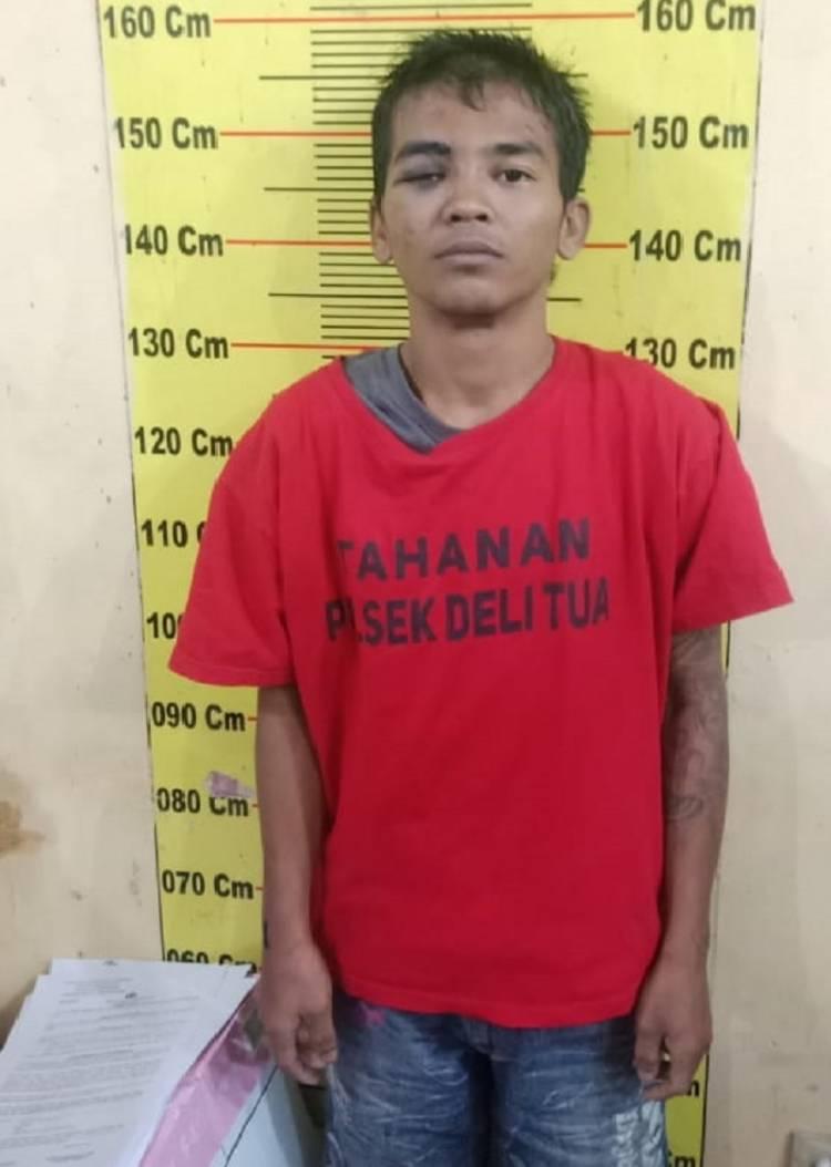 Polsek Delitua Tangkap Komplotan Curanmor di Pasar 9, Kecamatan Sibiru-biru