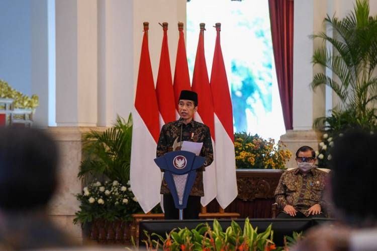PT Bank Syariah Indonesia Tbk Diresmikan Presiden di Istana Negara