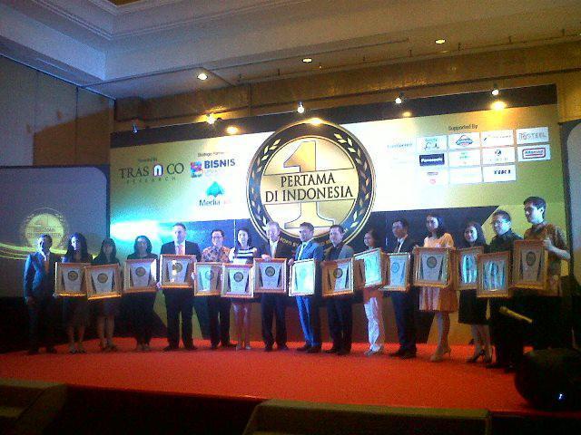 Brand-Brand Inovatif Raih Penghargaan PERTAMA DI INDONESIA 2017